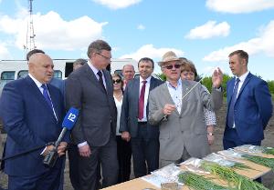 Джамбулат Хатуов побывал в Омском ГАУ