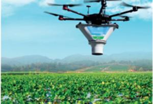 Дроны для биозащиты растений