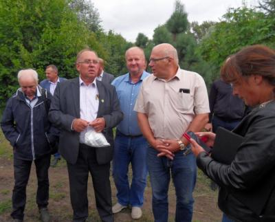 Развитие садоводства в Одоевском районе