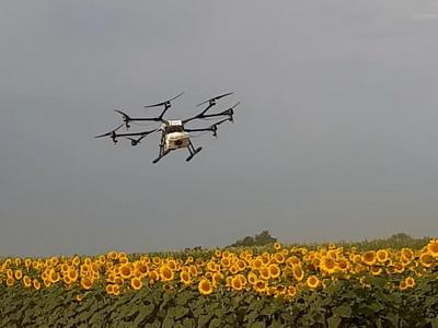 Беспилотники на страже сельхознасаждений