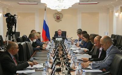 Совещание в Совете Федерации