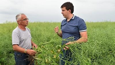 Взаимодействие белорусских и брянских аграриев