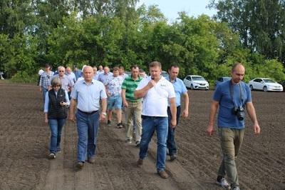 День поля состоялся в Омской области